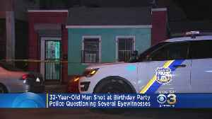 Man Shot, Killed At Birthday Party In Feltonville [Video]