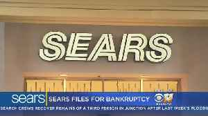 Sears Files For Chapter 11 Bankruptcy Protection [Video]