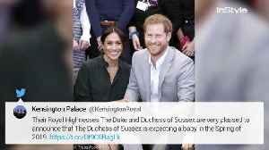 News video: Meghan Markle Is Pregnant! The Duchess Is Expecting Her First Child with Prince Harry