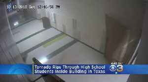 Tornado Rips Through High School With Students Inside [Video]