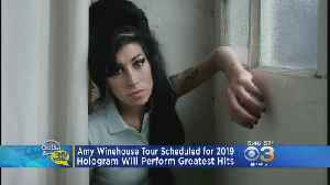 Amy Winehouse Hologram Tour Scheduled For 2019 [Video]