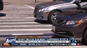 'Don't block the box' campaign begins in Baltimore [Video]