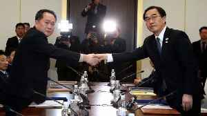 Koreas Move Forward With Plans to Reconnect Roads, Rails