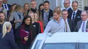Right Now: Expectant Parents Meghan Markle and Prince Harry Pack on the PDA in Australia [Video]