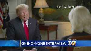 President Trump Sits Down For '60 Minutes' Interview [Video]