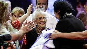 Auschwitz Survivor Wins Beauty Pageant At 93-years-old [Video]
