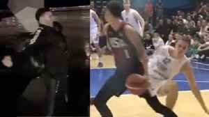 Lamelo Ball's INSANE New Signature Spin Move: Lonzo Does Perfect Michael jackson Impersonation [Video]