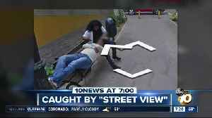Woman caught cheating on Street View? [Video]