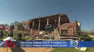 25 Congregation Members Survive After Church Collapses During Hurricane Michael [Video]