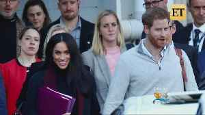 Meghan & Harry Expecting Their First Baby [Video]