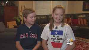 Sibling Rivalry Takes On New Meaning For Twins With Middle Names Boston, Houston [Video]