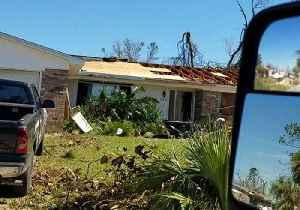 Fallen Trees and Damaged Homes Line Callaway Streets [Video]