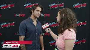Tyler Posey & Marvel Rising Cast DISH on BIGGEST Fangirl Moments at NYCC [Video]