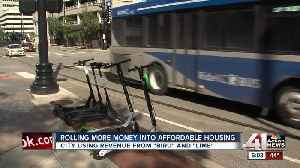 Proposal would use scooter money for housing [Video]