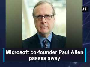 Microsoft co-founder Paul Allen passes away [Video]