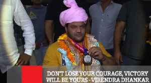 Don't Lose Your Courage, Victory Will Be Yours - Virendra Dhankar [Video]