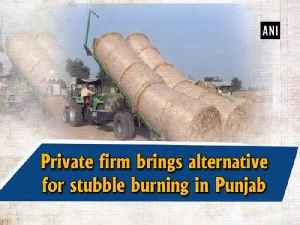 Private firm brings alternative for stubble burning in Punjab [Video]