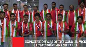 Expectation Was Of The Gold- Jr. Vice-Captain Shailanand Lakra [Video]