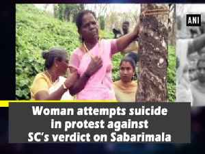 Woman attempts suicide in protest against SC's verdict on Sabarimala [Video]