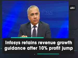 Infosys retains revenue growth guidance after 10% profit jump [Video]