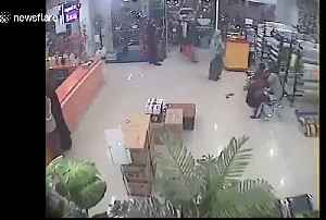 Recently emerged CCTV footage shows moment 7.5-magnitude earthquake hits Indonesia island [Video]