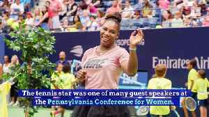 Serena Williams Opens up About Motherhood Insecurities [Video]