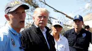 Trump Visits Cities Hit By Hurricane Michael [Video]