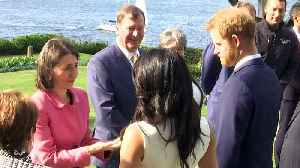 Prince Harry and Meghan meet Australia's Governor-General [Video]