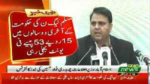 Information Minister Fawad Chaudhry Press Conference - 16th October 2018 [Video]