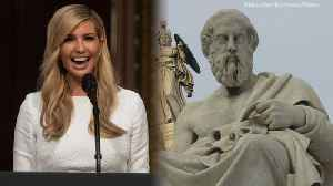Twitter Explodes After Ivanka Trump Misquotes Socrates [Video]