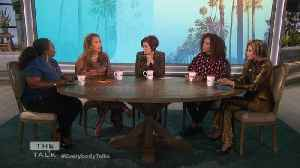 The Talk - Carrie Ann Inaba Says She's For Gun Control After 'father was shot in a bar' [Video]