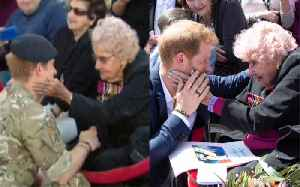 Prince Harry reunited with 98-year-old fan in Australia [Video]