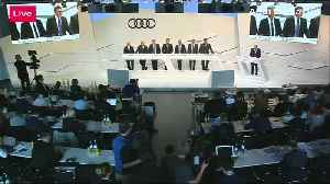Audi fined 800 mln euros for diesel violations [Video]
