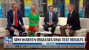 Graham on Taking DNA Test: Warren Is Less than 1/10 of 1% Native American, 'I Think I Can Beat Her' [Video]