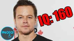 Top 10 Famous People Smart Enough to Be in MENSA [Video]