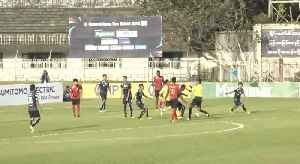 Two Players Sent Off In Burma Football Match [Video]