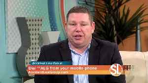 Crash advice from Accident Attorney Joe Brown from Accident Law Group [Video]
