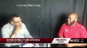 Forest Hill band director reacts [Video]