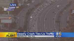 Southbound Highway 101 Still Closed In San Jose After Fatal Crash [Video]