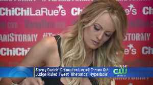 Stormy Daniels' Defamation Lawsuit Against President Trump Thrown Out [Video]