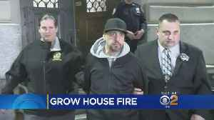 Firefighter Injured, Grow House Suspect Arrested [Video]