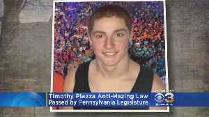 Stricter Criminal Penalties For Hazing To Soon Become Law [Video]