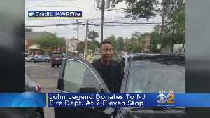 John Legend Donates To New Jersey Fire Department [Video]