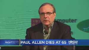 Microsoft Co-Founder Paul Allen Dies At Age 65 [Video]