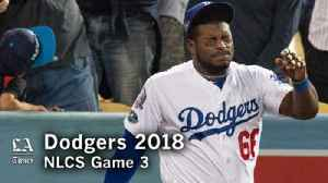 The Dodgers lose Game 3 of the NLCS and could be in trouble [Video]