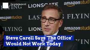 Steve Carell Explains Why He Thinks 'The Office' Would Not Work Now [Video]