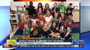 Good morning from Joppatowne Elementary School! [Video]