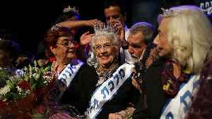 93-year-old great-grandmother crowned 'Miss Holocaust Survivor' [Video]