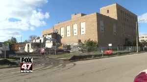 Demolition underway on old YMCA building [Video]