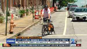 More bikes lanes, sidewalks & public transportation could be coming to Baltimore [Video]